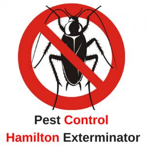 pest control hamilton exterminator logo